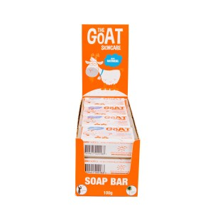 The Goat Skincare Soap with Oatmeal CARTON 12x100g