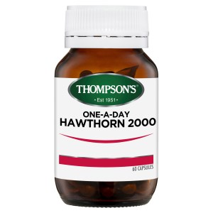 Thompson's One-a-day Hawthorn 2000mg 60 caps