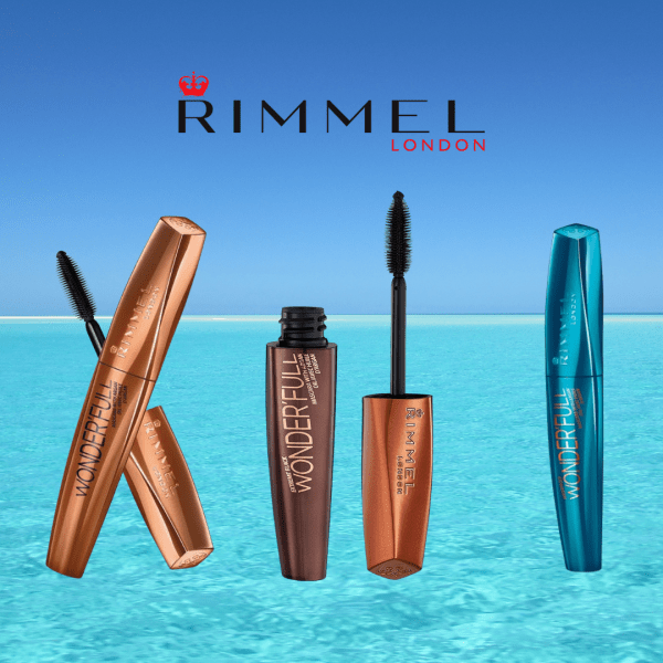 Rimmel London Wonderfull Waterproof Mascara with Argan Oil