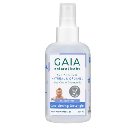 GAIA Natural Baby Conditioning Detangler 200mL