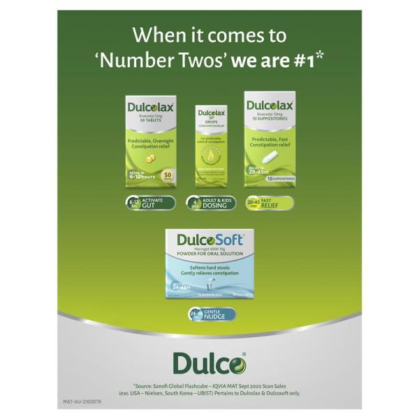 Dulcolax 5mg 50 Tablets