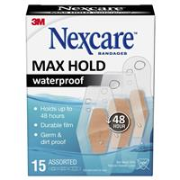 Nexcare Max Hold Strips 15 Assorted 3