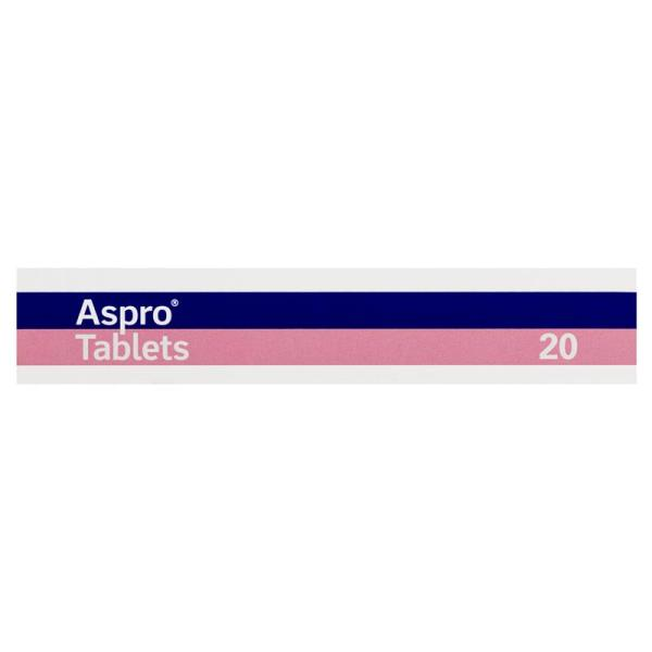 Clear Aspro Pain Relief 20 Tablets 5