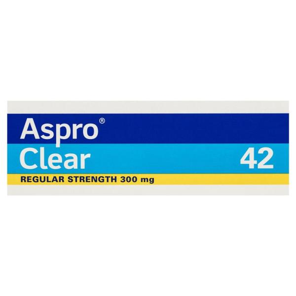 Aspro Clear Pain Relief 42 Soluble Tablets 6