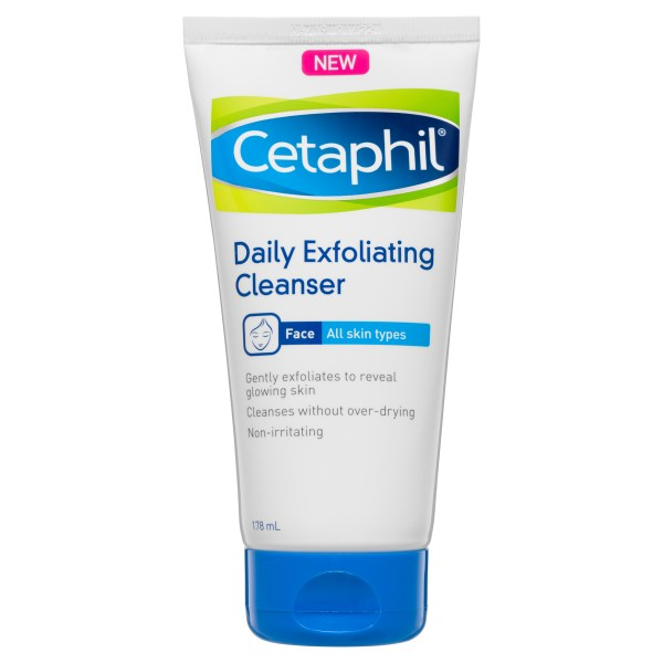 Cetaphil Daily Exfoliating Cleanser 178mL Gentle on Skin