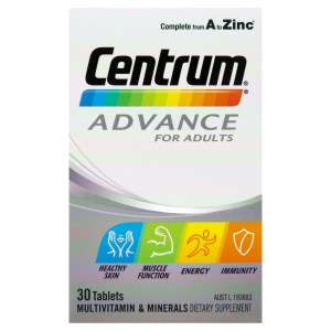 Centrum Advance For Adults Tablets 30 Pack 3