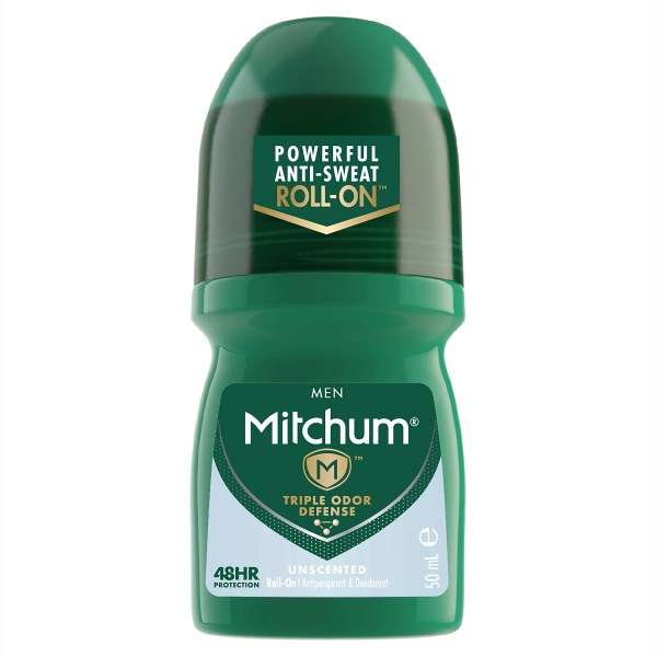 Mitchum Men's Roll On Unscented 50mL 3