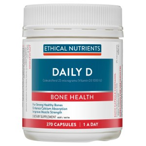 Ethical Nutrients Daily D 270 Capsules