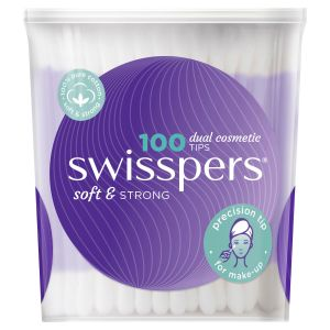 Swisspers Cosmetic Tips 100 pack