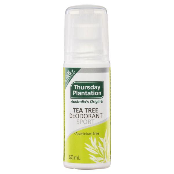 Thursday Plantation Tea Tree Deodorant Sport 60mL 3