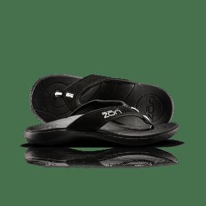 Neat Feat Zori Orthotic Thongs Black