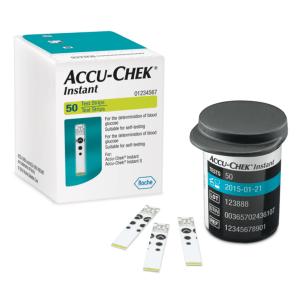 Accu-Chek Instant S 50 Blood Glucose Test Strips