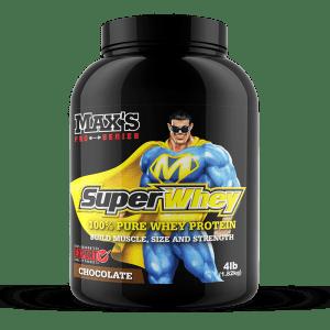 Max's Pure 100% Whey Protein Super Whey