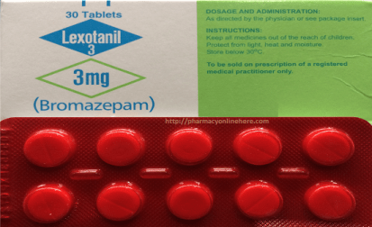 Lexotanil 3mg Tablets Uses Dosage And Side Effects