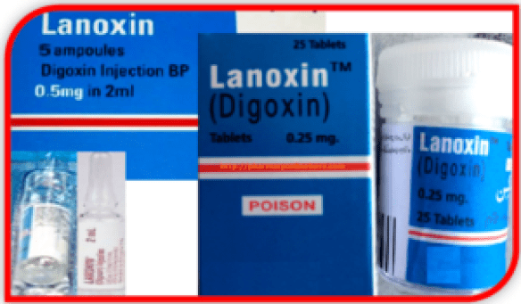 Lanoxin Tablets Injection Uses, Dosage, Side Effects And Price