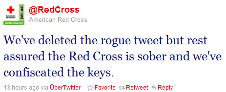 The Red Cross response
