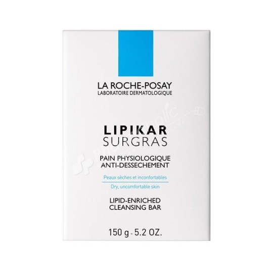 La Roche-Posay Lipikar Surgras Cleansing Bar -150g-