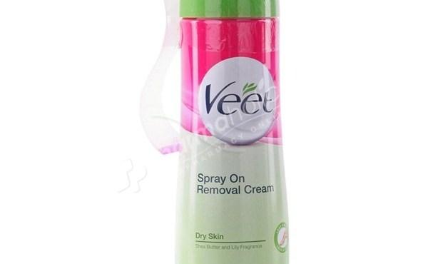 Veet Spray On Hair Removal Cream For Dry Skin 150ml Pharmaholic
