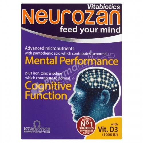 Vitabiotics Neurozan Feed Your Mind