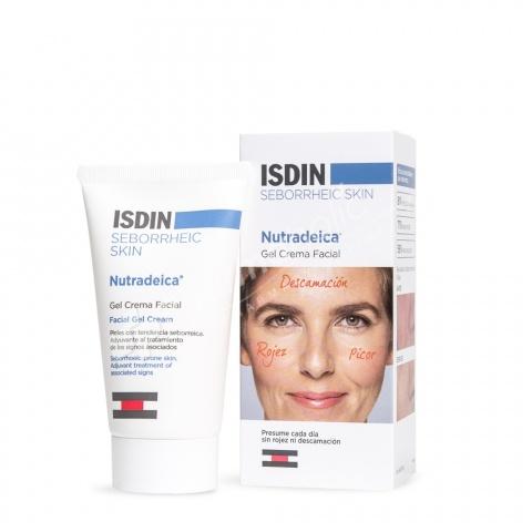 Isdin Seborrheic Skin Nutradeica Facial Gel Cream
