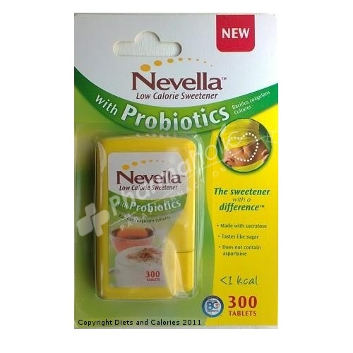 Nevella Low Calorie Sweetener with Probiotics