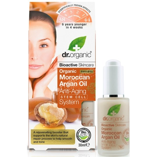 Dr.Organic Organic Moroccan Argan Oil Anti-Aging Stem Cell System