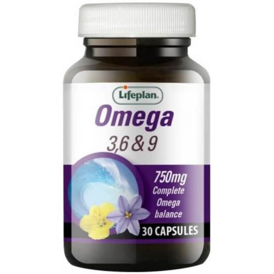 Lifeplan Omega 3 6 9
