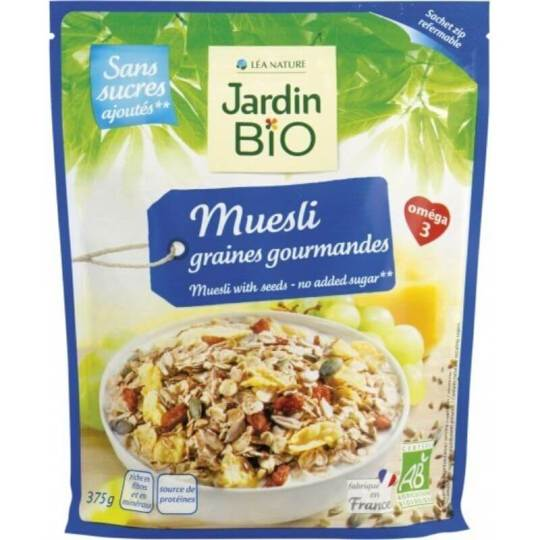 Jardin Bio Muesli with Seeds