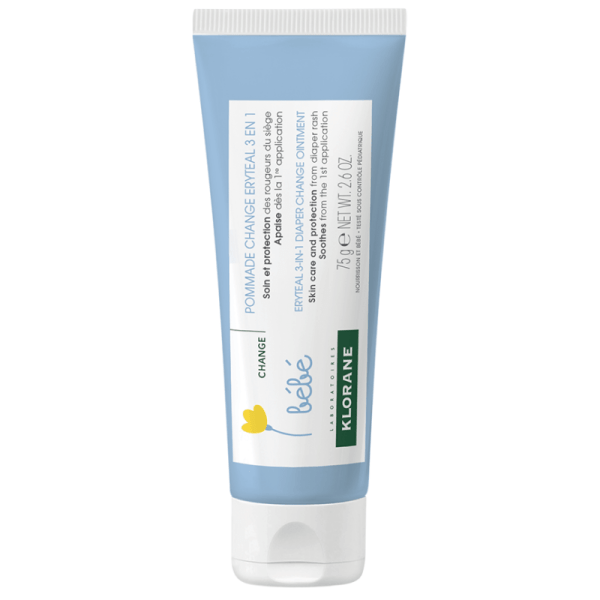 Klorane Baby Eryteal 3-in-1 Diaper Change Ointment