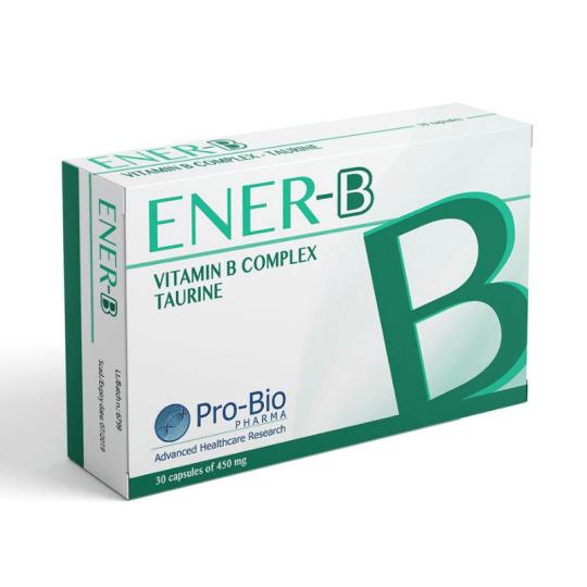 Pro-Bio Pharma Ener-B Vitamin B Complex 30 Capsules