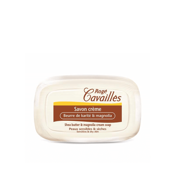 Roge Cavailles Shea Butter and Magnolia Cream Soap 115g