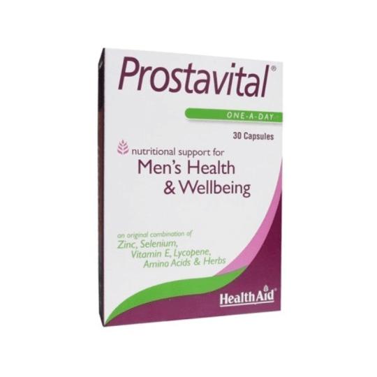 HealthAid Prostavital 30 Capsules