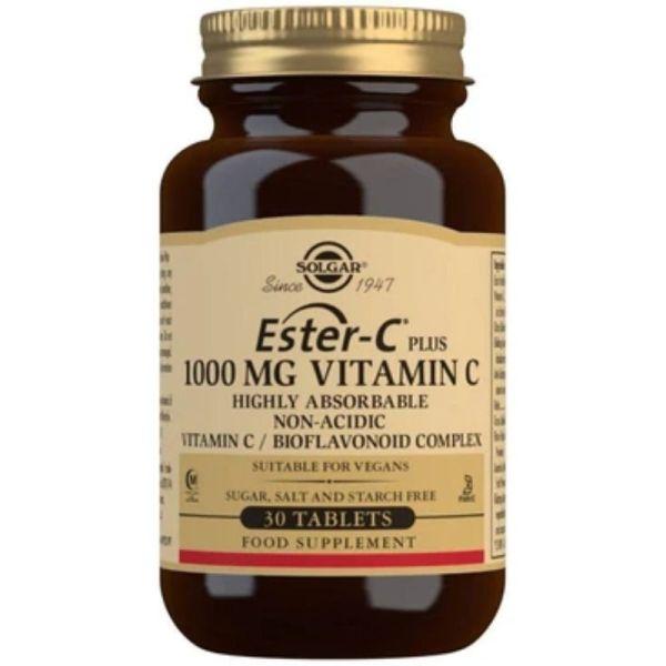 Solgar Ester-C Plus Vitamin C 1000 mg 30 tablets
