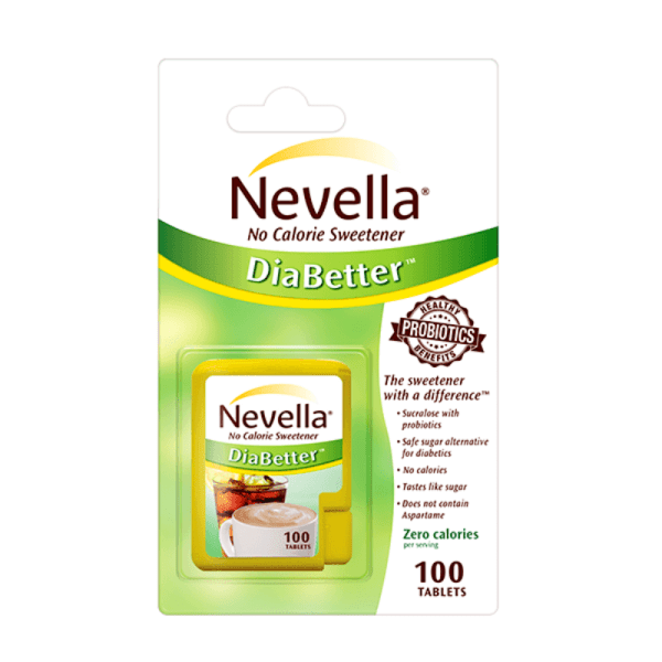Nevella No Calorie Sweetener DiaBetter 300 Tablets