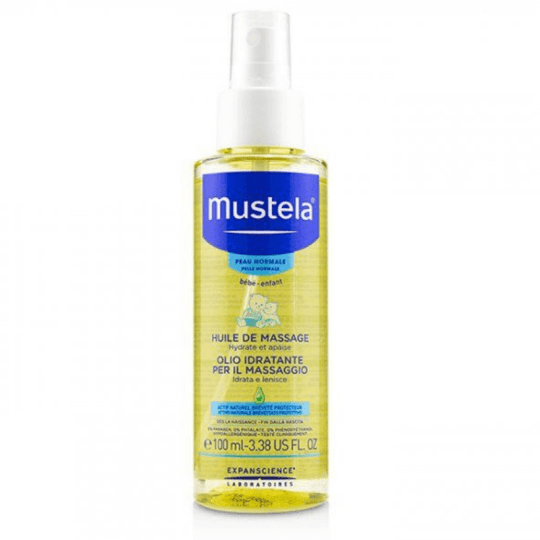 Mustela Baby Massage Oil 100ml