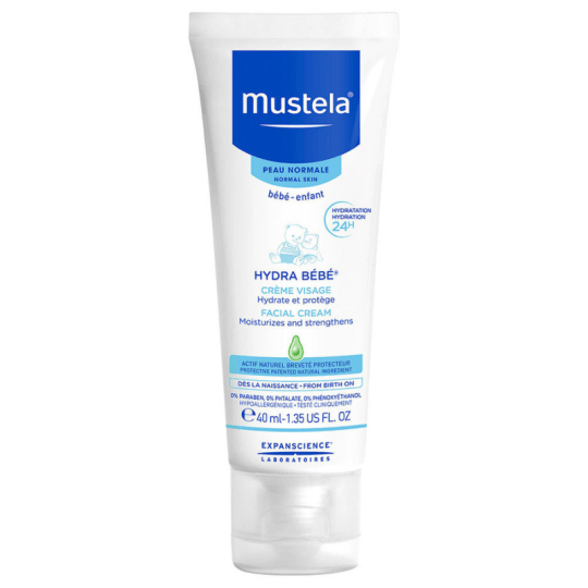 Mustela Hydra Bebe Face Cream 40ml