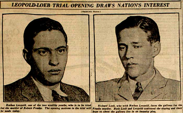 Image result for leopold and loeb quotes