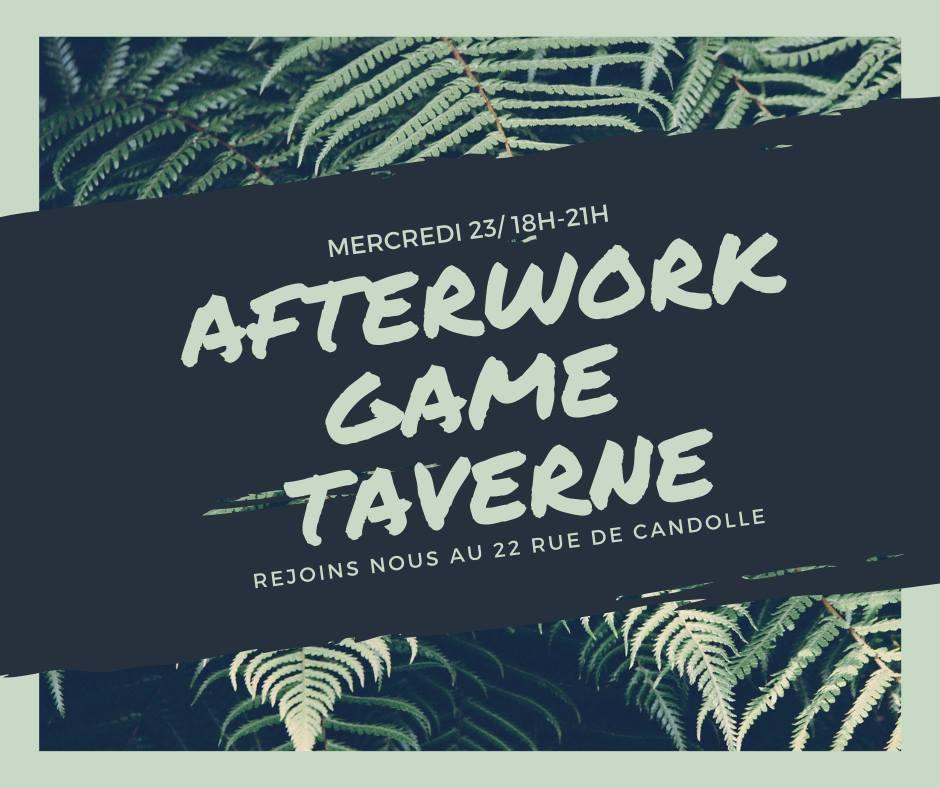 Afterwork Game Taverne (anglais)