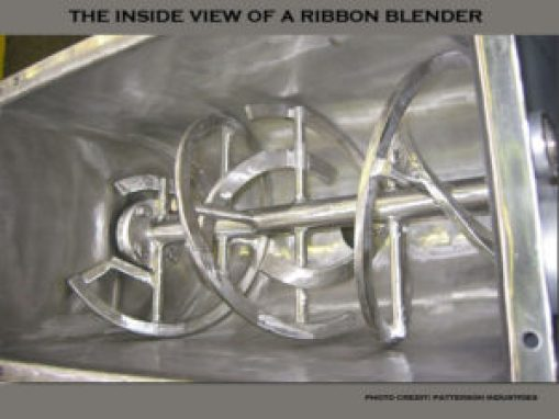 picture of a ribbon blender