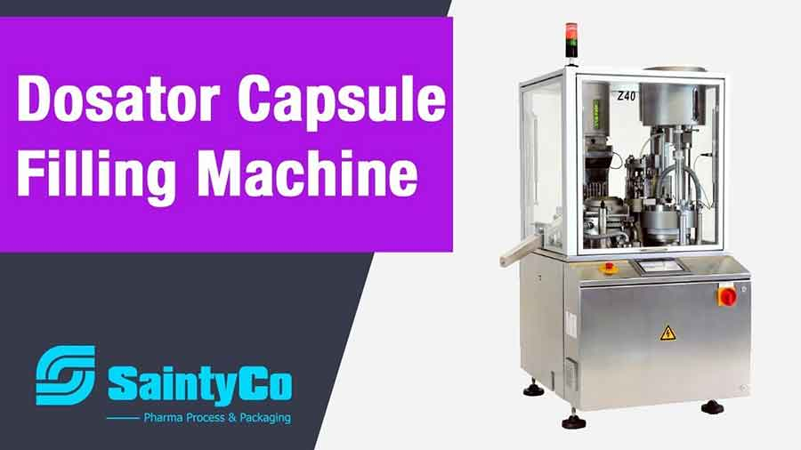 Pharmaceutical Machine Supplier in China: Dosator Capsule Filling Machine