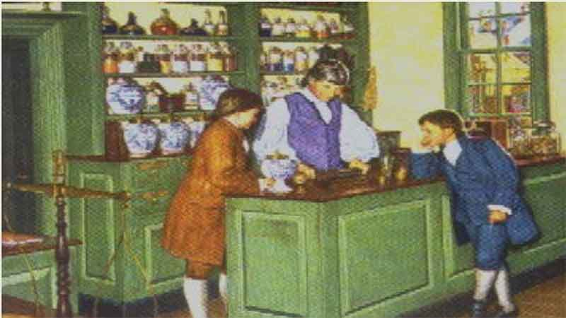 History of Pharmacy: The Marshall Apothecary