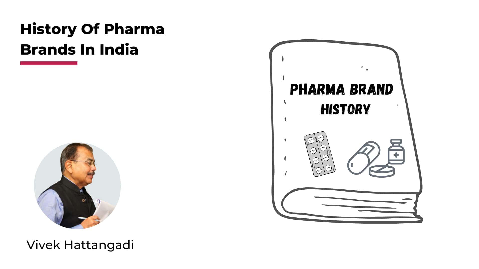 History of Pharma Brands in India