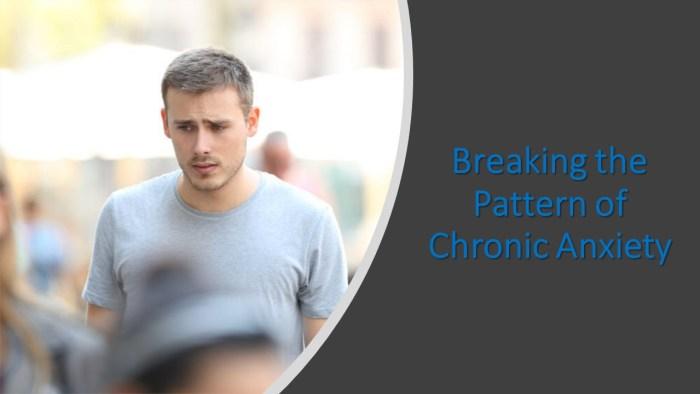 Joe Wegmann – Breaking the Pattern of Chronic Anxiety: Transformative Treatment Strategies