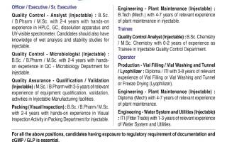 Zydus Cadila – Walk-Ins for Freshers & Experienced in QC / QC-Micro / QA / Production / Packing / Engineering on 14th & 15th May' 2021