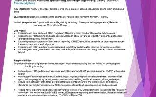 Work From Home Opportunity for Pharmacovigilance @ Pharmaleaf India Pvt. Ltd