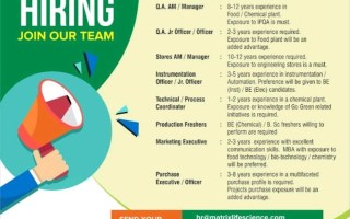 Matrix Life Science Pvt. Ltd – Vacancy for Freshers & Experienced in QA / Production / Stores / Instrumentation / Purchase / Marketing