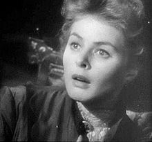 Ingrid Bergman i Gaslight, 1944
