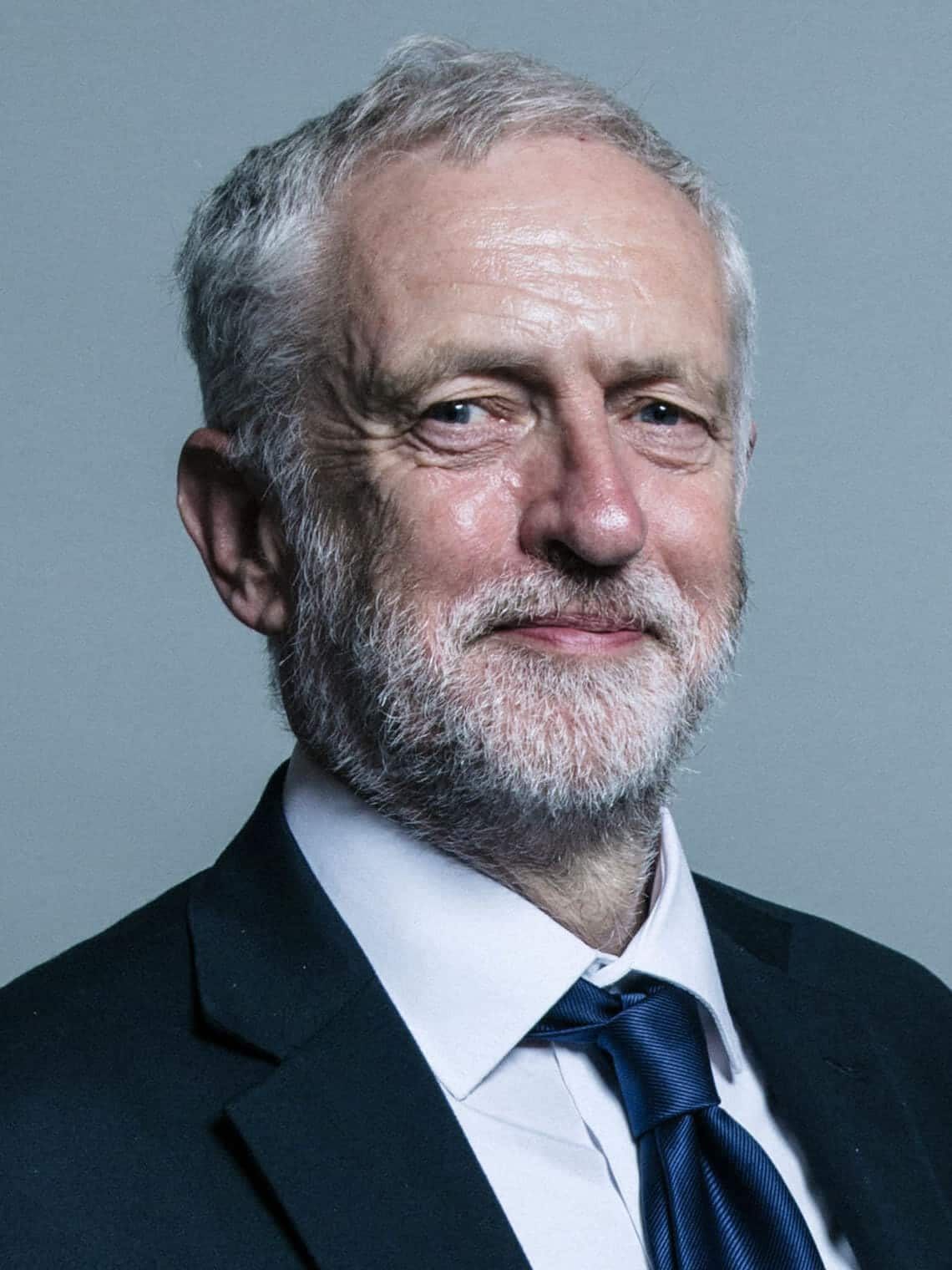 Official portrait of Jeremy Corbyn crop 2