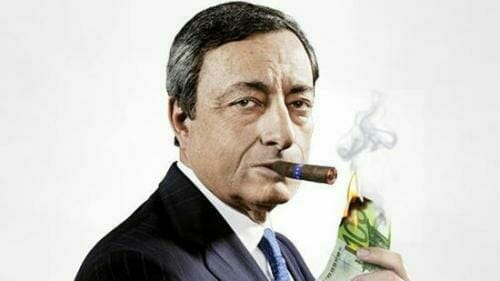 draghi burning cash_0