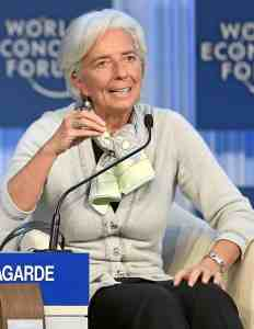 Christine Lagarde World Economic Forum 2013 28cropped29